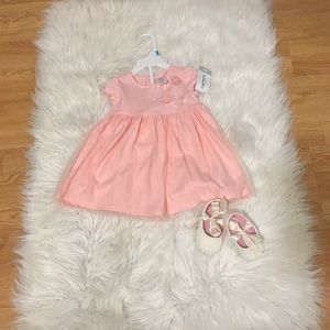 NWT CARTERS dress and bloomers